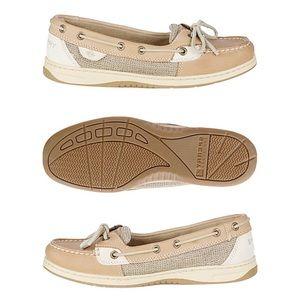 Sperry Top-Sider Angelfish Boat Shoe Linen Oat - 7